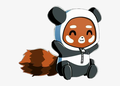 red panda man avatar