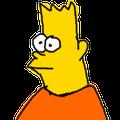 Pixel bart avatar