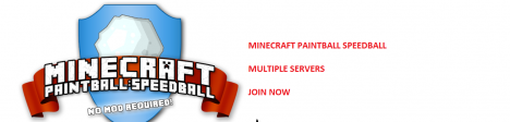 [!] PAINTBALL SERVER [!] MCPAINTBALL.NET [!] NOMOD [!] NOWHITELIST [!] WEBTOPSORES [!] CUSTOMPLUGIN [!] CALLOFDUTYMAPS [!]