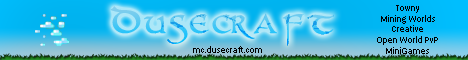 DuseCraft [24/7][NoLag][Creative][Survival][Minigames]