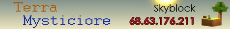 Terra Mysticiore SkyBlock Server