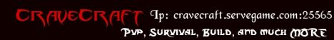 CraveCraft 1.4.7 Pvp,Build,Creative, and MORE