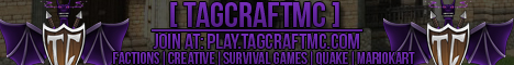TAGCraftMC Network - Now with SG and 100+ kits.