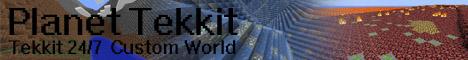 Planet Tekkit! Custom Map!