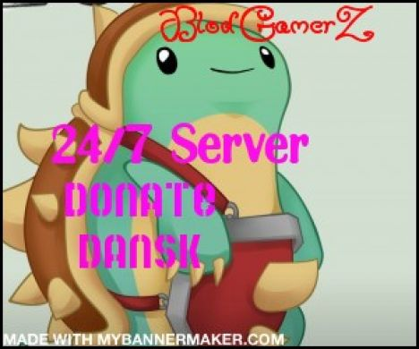 BlodGamerz 24/7 Dansk Server