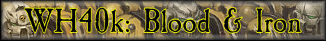 WARHAMMER 40K: Blood & Iron [PVP and survival worlds][Flans, IC2, Power Armor, custom mods]