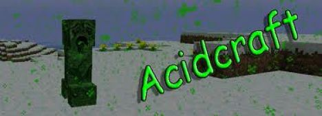 AcidCraft PVP, Factions server!!