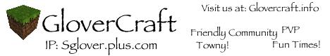 GloverCraft - No longer Online