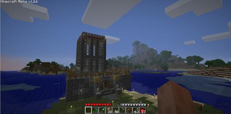 Minecraft Alpha 1.2.6 SERVER 2012