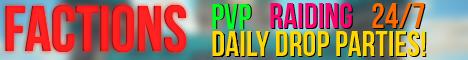 [1.7] {RESET 7/31/13 NEW MAP} [FACTIONS] Rocket Propelled Gaming [PvP/RAIDING] [MCMMO]