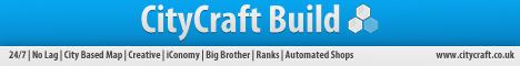   CityCraft Build   Creative   Free Ranks  