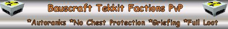 Bauscraft Tekkit Factions PVP