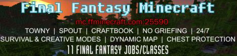 Final Fantasy Minecraft