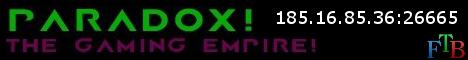 Paradox! The gaming empire. Vanilla [bukkit]