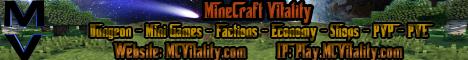 [Survial] [Skyblock] Minecraft Vitality