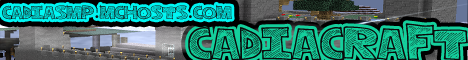 Cadiacraft 1.5 [LWC] [Creative] [Skyblock] [Factions]