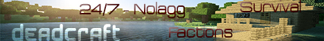 DeadCraft! 24/7 Lag-Free