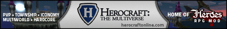 Herocraft Minecraft RPG Server Multiplayer