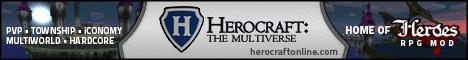 Herocraft Minecraft RPG Server Multiplayer