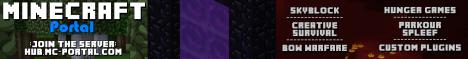 The Minecraft Portal: Hub [RAID][GRIEF][LAG FREE]