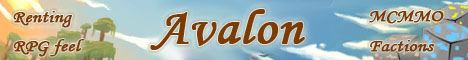 Avalon MC 1.12  PvP MCMMO RPG Inspired