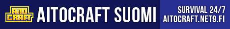 AitoCraft - suomalainen Minecraft-palvelin