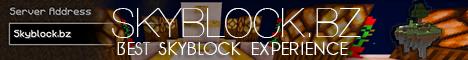 Skyblock.bz  - Best Skyblock Experience [1.8,1.7.4,1.7.2]