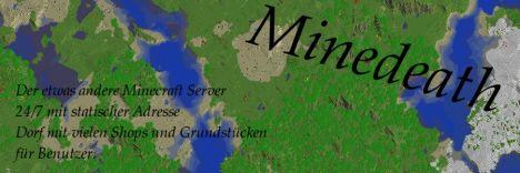 Minedeath - Dein Minecraft Server [GERMAN]