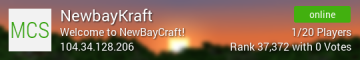 IP:NEWBAYKRAFT.MCPRO.CO! : SURVIVAL + FACTIONS + ECONOMY + MORE! 1.7.9 [NEW]