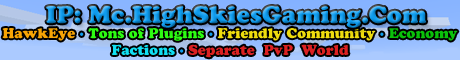 High Skies Gaming's Survival Server