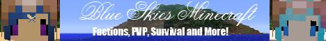Blue Skies Minecraft