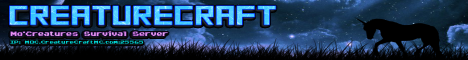 Creature Craft Mo Creatures Public Server 1.8.9