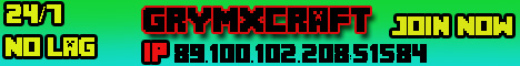 GrymxCraft Minecraft 1.5.2 Server 24/7 : Quick Build Challange, PVP , PVE, Mob Arena and much more