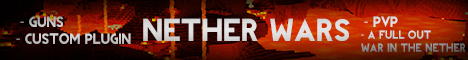 Nether Wars [Guns] [War] [Custom Plugin]