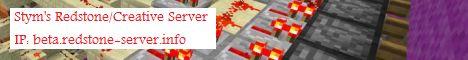 Stym's Redstone/Creative Server