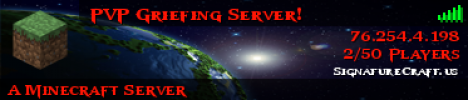 Griefing Server! [Griefing] [Ranks] [Home-Run] [PVP]