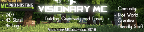 Visionary MC [24/7] [US Staff Needed]