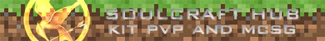 SoulCraft Hub - Survival Games - Kit PvP
