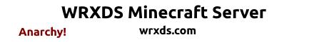 WRXDS Minecraft Server