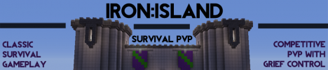 Iron Island :: Epic Survival PVP with GriefPrevention