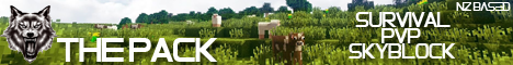 The Pack : Survival, PvP & SkyBlock all in one place!