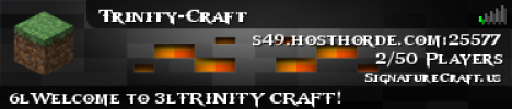 Trinity Craft [PVP] [GRIEF-RAID] [HIDE AND SEEK] [SPLEEF]
