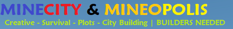 MineCity & Mineopolis | BUILDERS NEEDED