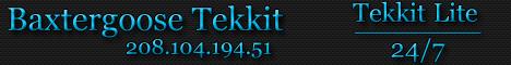 Baxtergoose Tekkit Lite -24/7 Lag Free!