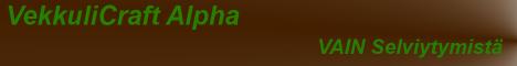 VekkuliCraft [FIN] [Survival]