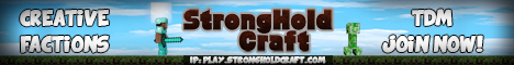 StrongholdCraft Factions+mcMMO (JUST RESET!)