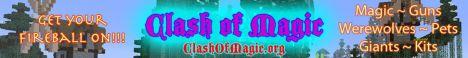 Clash of Magic - Magic - Adventure - Survival - Guilds - PvE - PvP