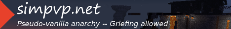 simpvp.net | Anarchy | Griefing allowed