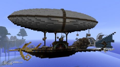 SkyCraft: Factions, Airships, and Ships!