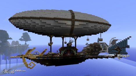 SkyCraft: Factions, Airships, and Ships!